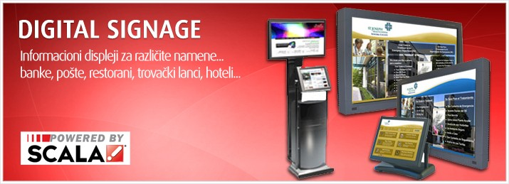 Digitalpro | Info displeji - Digital Signage